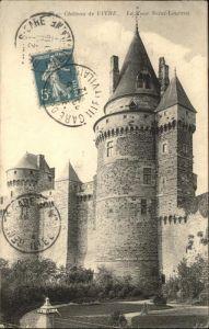 Vitre d Ille-et-Vilaine Chateau / Vitre /Arrond. de Rennes