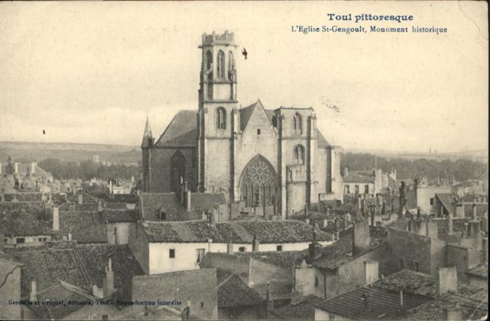 Toul Meurthe-et-Moselle Lothringen Toul pittoresque / Toul /Arrond. de Toul