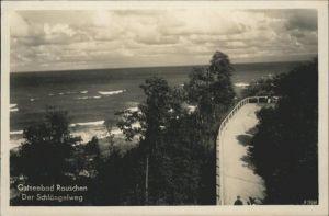 Rauschen Ostseebad Schlaengelweg / Swetlogorsk /Ostpreussen