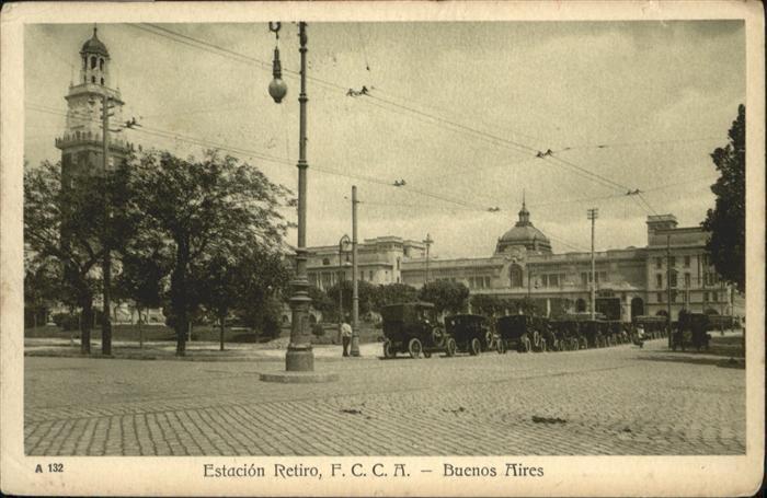 Buenos Aires Estacion Retiro / Buenos Aires /