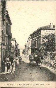 Hendaye Pyrenees Atlantiques Rue du Port / Hendaye /Arrond. de Bayonne