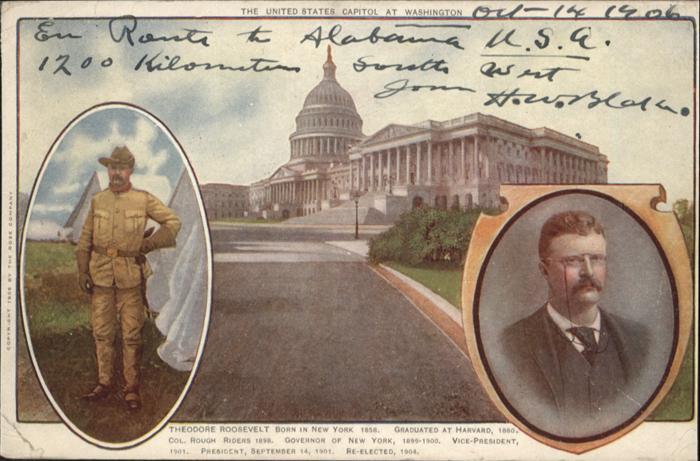 Washington DC United States Capitol Theodore Roosevelt Harvard / Washington /