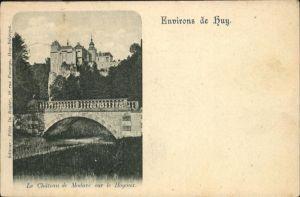 Huy Liege Chateau Modave