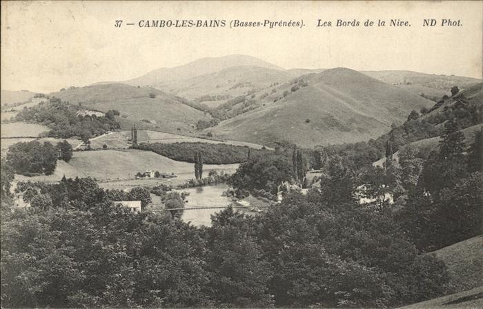 Cambo-les-Bains Bords de la Nive / Cambo-les-Bains /Arrond. de Bayonne
