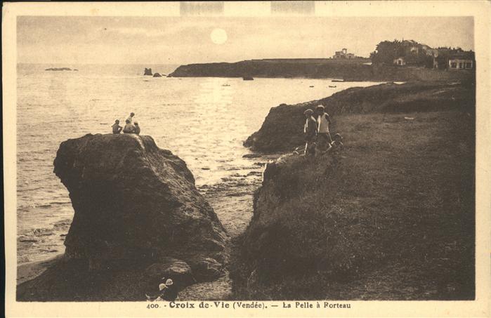 Croix de Vie Vendee La Pelle a Forteau / Saint-Gilles-Croix-de-Vie /Arrond. des Sables-d Olonne