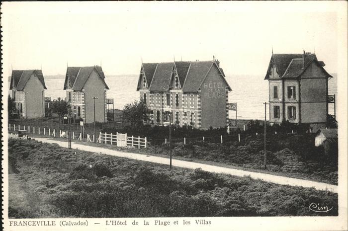 Franceville-Plage Hotel de la Plage Villas / Merville-Franceville-Plage /Arrond. de Caen