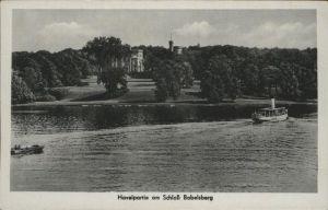 Babelsberg Havelpartie Schloss Babelsberg / Potsdam /Potsdam Stadtkreis