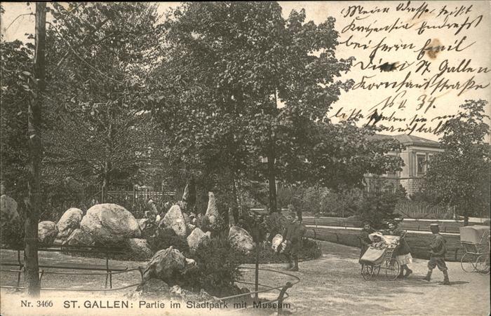 St Gallen SG Stadtpark Museum / St Gallen /Bz. St. Gallen City