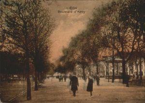 aw00726 Liege Luettich Boulevard d´Avroy Kategorie. Luettich Alte Ansichtskarten