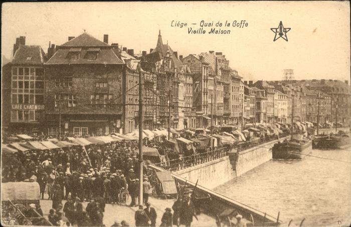 aw01058 Liege Luettich Quai de la Goffe Vieille Maison Kategorie. Luettich Alte Ansichtskarten
