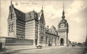 Audenarde West-Vlaanderen La Gare Feldpost