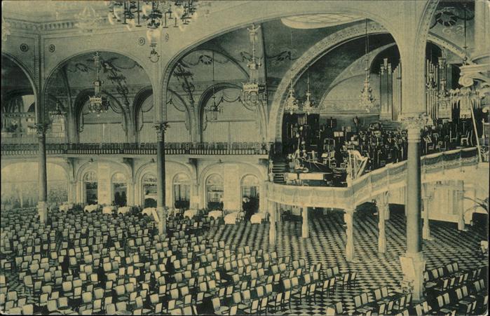 aw01425 Ostende Flandre Kursaal, Salle des Concerts Kategorie.  Alte Ansichtskarten