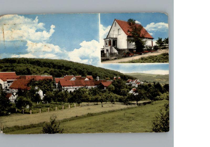 Schellbach Knuellwald Gasthaus und Pension Schnitzel-Ranch / Knuellwald /Schwalm-Eder-Kreis LKR