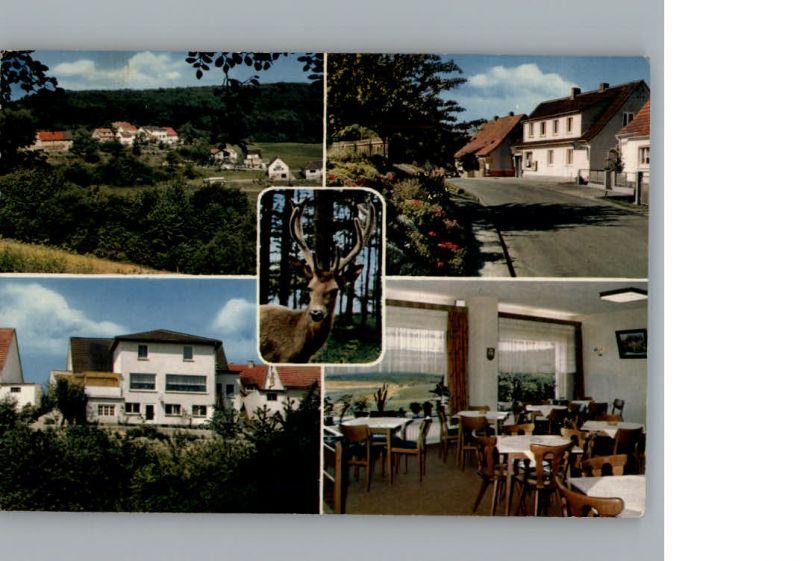 Schellbach Knuellwald Cafe Pension Talblick / Knuellwald /Schwalm-Eder-Kreis LKR