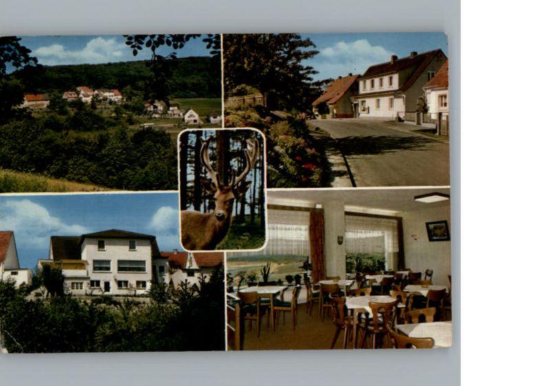 Schellbach Knuellwald Pension Talblick  / Knuellwald /Schwalm-Eder-Kreis LKR