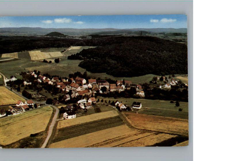 Schellbach Knuellwald Fliegeraufnahme / Knuellwald /Schwalm-Eder-Kreis LKR