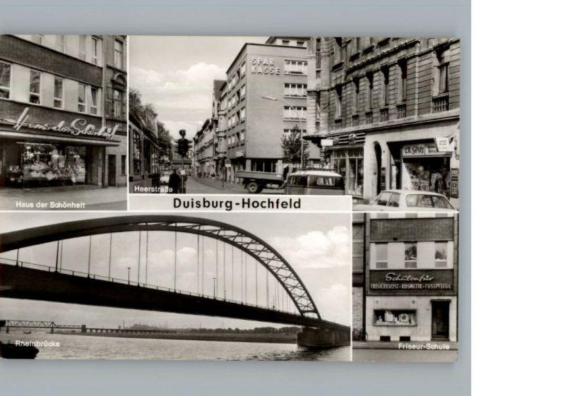 Hochfeld Duisburg Haus der Schoenheit Friseur Schule