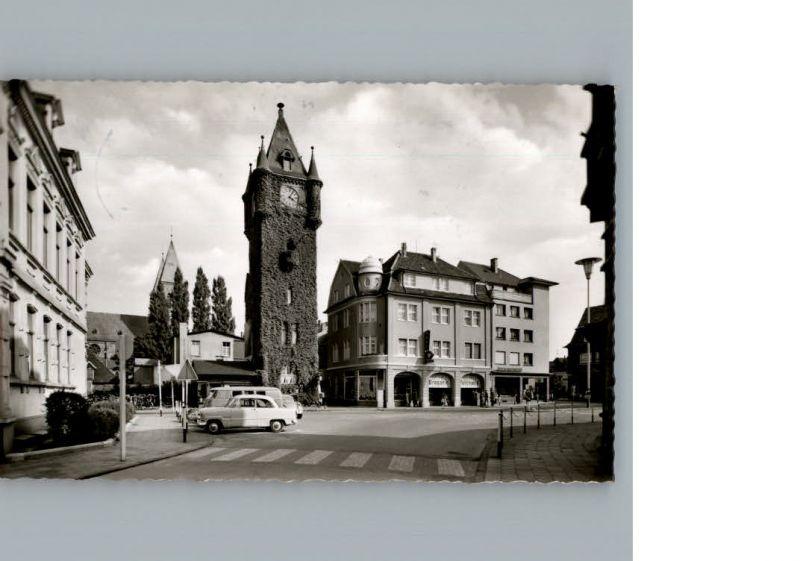 Gronau Westfalen Am alten Rathausturm / Gronau (Westf.) /Borken LKR