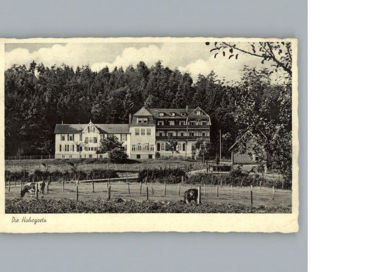 Pracht Hamm Erholungsheim Hohegrete / Pracht /Altenkirchen Westerwald LKR 0