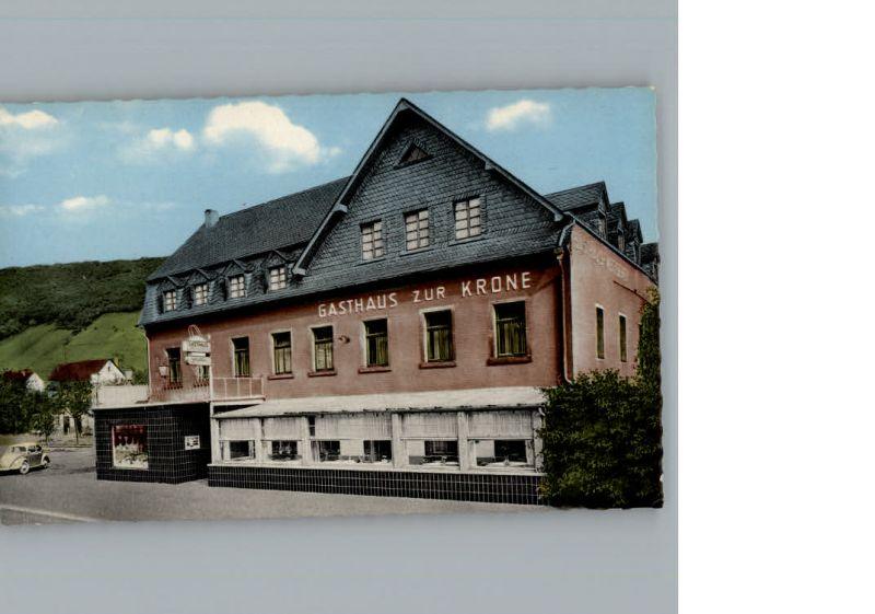 Oberfell Gasthaus zur Krone / Oberfell /Mayen-Koblenz LKR