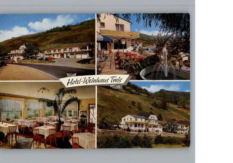 Treis Lumda Hotel Weinhaus / Staufenberg /Giessen LKR