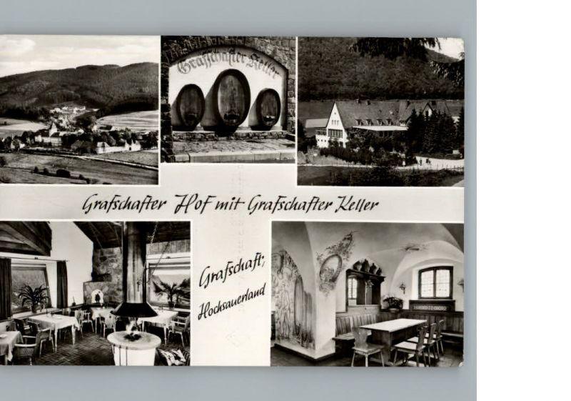 Grafschaft Sauerland Gasthof Grafschafter Hof Grafschafter Keller / Schmallenberg /Hochsauerlandkreis LKR