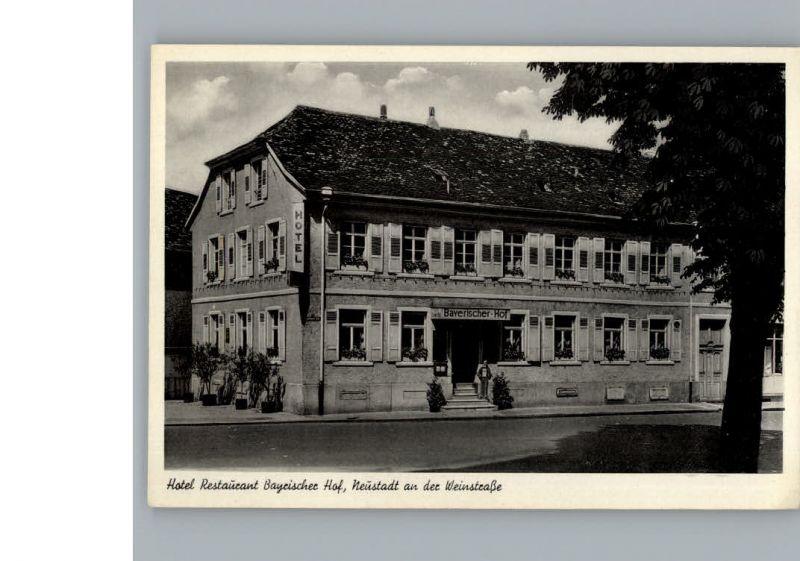 Neustadt Weinstrasse Hotel Bayrischer Hof / Neustadt an der Weinstr. /NeuWeinstrasse Stadtkreis