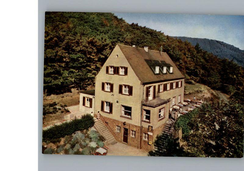 Neustadt Weinstrasse Burgschaenke Rittersberg Kat. Neustadt an der ...