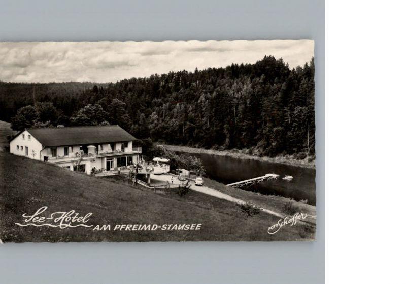 oedmuehle Trausnitz Oberpfalz Seehotel am Pfreimd-Stausee / Trausnitz /Schwandorf LKR