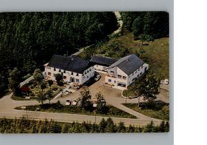 Hofstetten Brand Fliegeraufnahme Gaststaette-Pension Berghof Alm / Fichtelberg /Bayreuth LKR