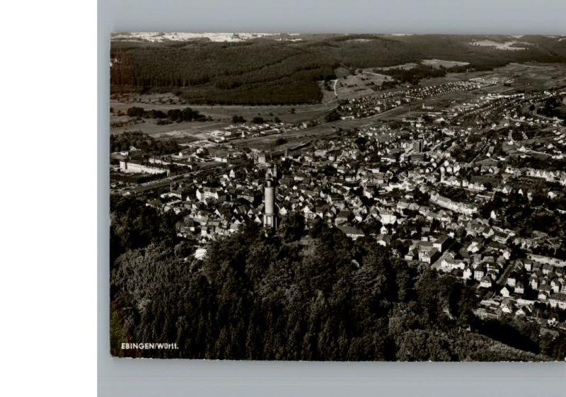 Ebingen Fliegeraufnahme / Albstadt /Zollernalbkreis LKR