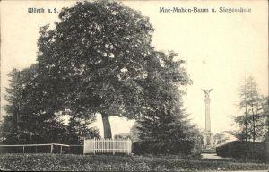 Woerth Sauer Mac Mahon Baum Siegessaeule / Woerth /Arrond. de Wissembourg