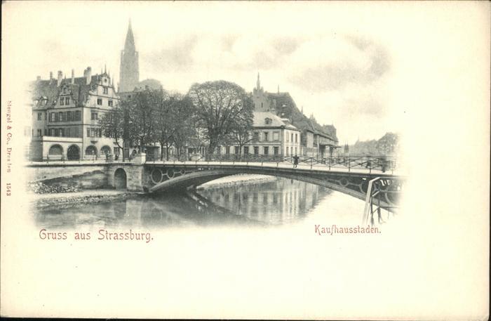 Strassburg Elsass Kaufhausstaden / Strasbourg /Arrond. de Strasbourg-Ville