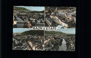 Raon-l Etape Vosges Vues partielles / Raon-l Etape /Arrond. de Saint-Die