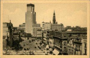 Anvers Antwerpen Place de Meir