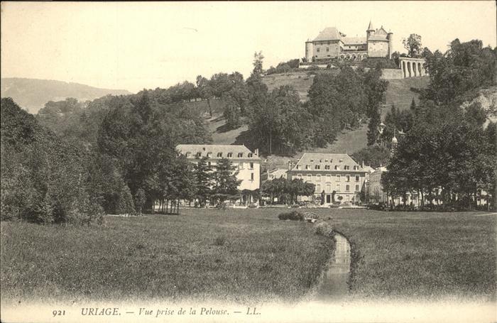 Uriage-les-Bains Isere  / Vaulnaveys-le-Haut /Arrond. de Grenoble