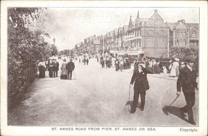 St Annes on Sea Road from Pier