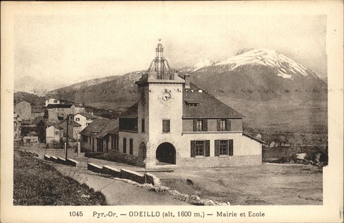 Font-Romeu-Odeillo-Via Mairie Ecole / Font-Romeu-Odeillo-Via /Arrond. de Prades