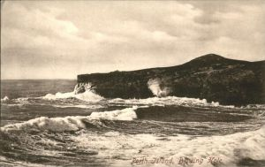 Porth Island Blowing Hole