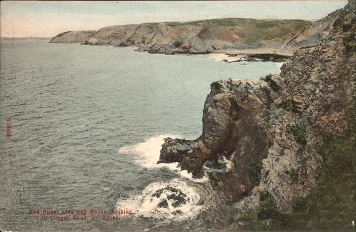 Saint Agnes Coast Line