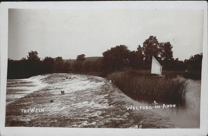 Welford on Avon The Weir