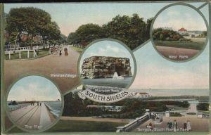 South Shields West Park Marsden Rock Westroe Village / United Kingdom /