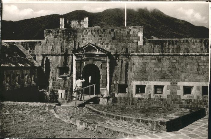 Saint Kitts Nevis Citadel Brimstone Hill / Basseterre /