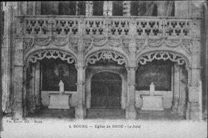 Bourg Liege Eglise de Brou Le Jube Kat.