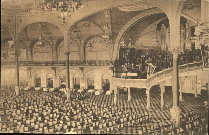 hw15351 Ostende Flandre Kursaale Salle des concerts Kategorie.  Alte Ansichtskarten