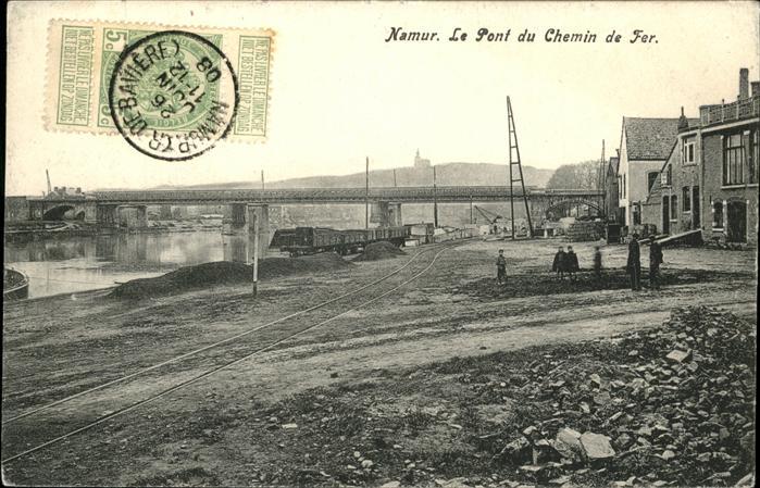 Namur Pont du Chemin de Fer Kat.