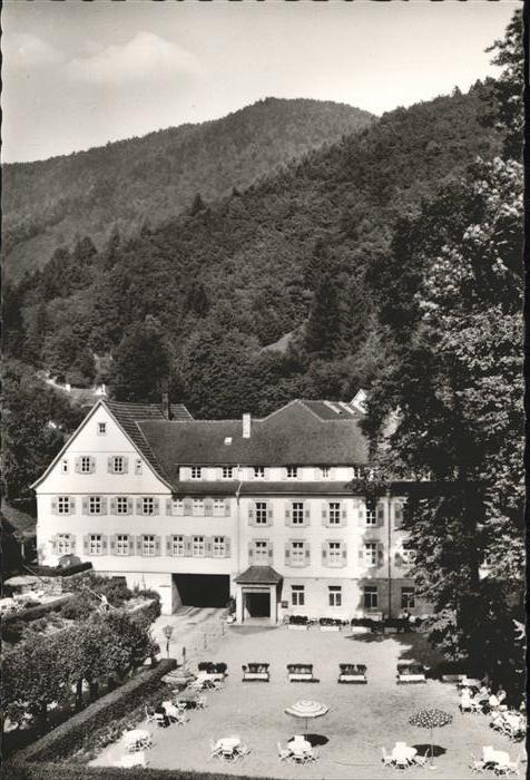 Bad Sulzbach Thermalbad Sulzbach / Lautenbach /Ortenaukreis LKR