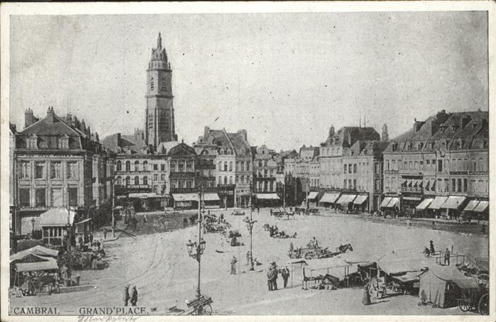 Cambrai Grand Place / Cambrai /Arrond. de Cambrai