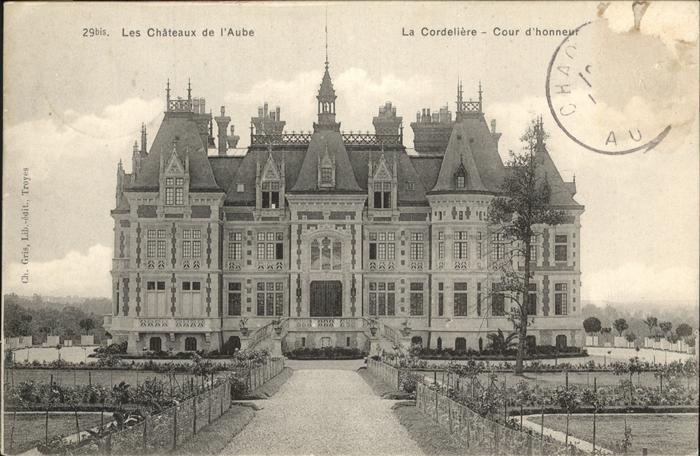 Chaource Chateaux de l`Aube / Chaource /Arrond. de Troyes