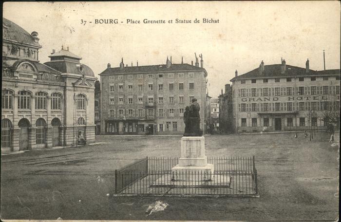 Bourg-en-Bresse Place Grenette / Bourg-en-Bresse /Arrond. de Bourg-en-Bresse